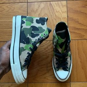 Men's Chuck Taylor 70 Hi Archive Prints Size 7